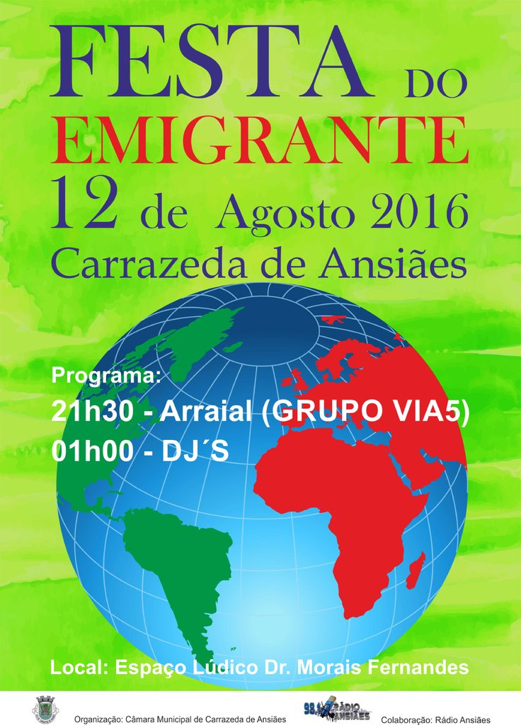 Festa do emigrante  10 1 736 2500
